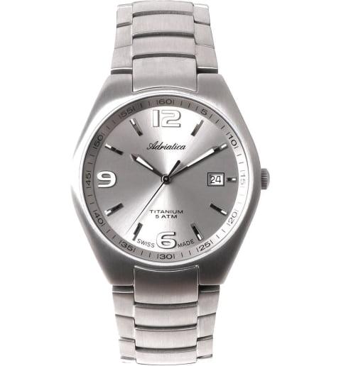 Часы Adriatica 1069.4157Q с титановым браслетом
