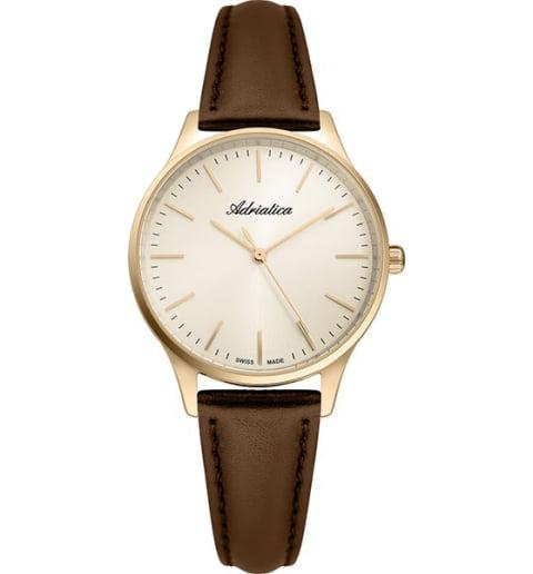 Adriatica 3186.1211Q с кожаным браслетом