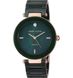 Anne Klein 1018 RGGN с зеленым циферблатом