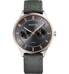 Часы Bering 11539-879 с текстильным браслетом