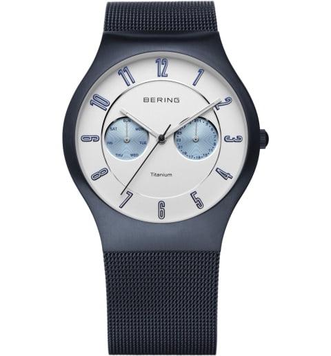 Часы Bering 11939-394 с титановым браслетом