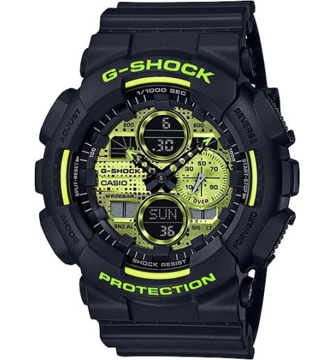 Часы Casio G-Shock GA-140DC-1A с водонепроницаемостью 20 бар