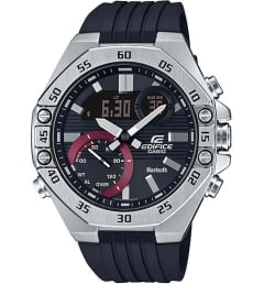 Часы Casio EDIFICE  ECB-10P-1A с каучуковым браслетом
