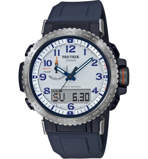 Часы Casio PRO TREK PRW-50YAE-2E на солнечной атарее