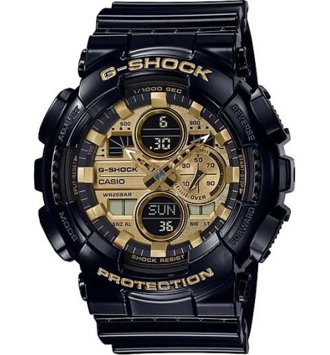Часы Casio G-Shock  GA-140GB-1A1 с водонепроницаемостью 20 бар