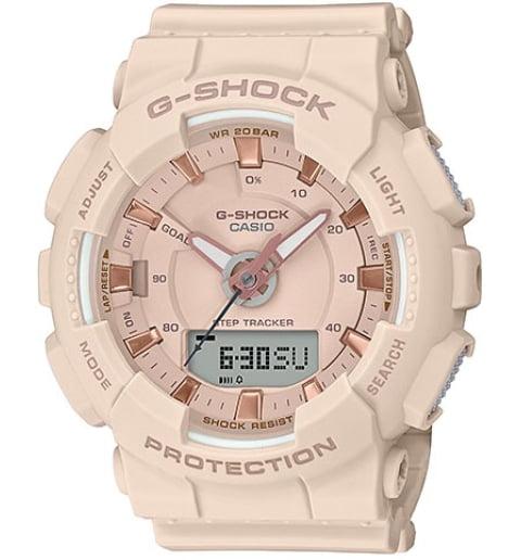 Часы Casio G-Shock GMA-S130PA-4A с шагомером