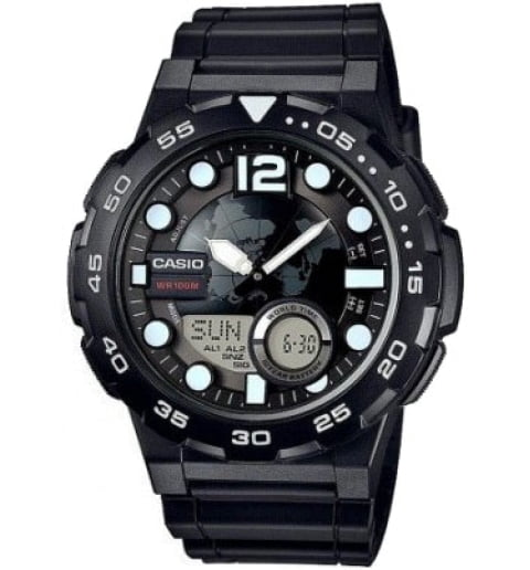 Дешевые часы Casio Collection AEQ-100W-1A