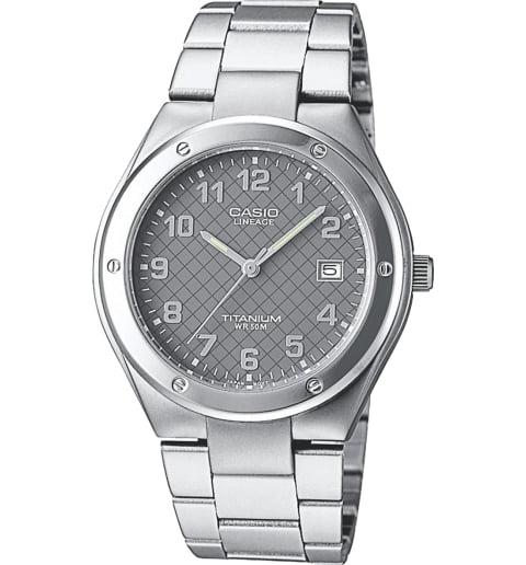Часы Casio Lineage LIN-164-8A в титановом корпусе