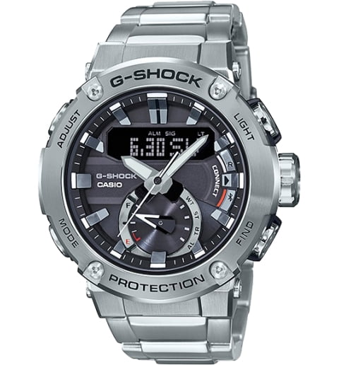 Часы Casio G-Shock GST-B200D-1A на солнечной атарее