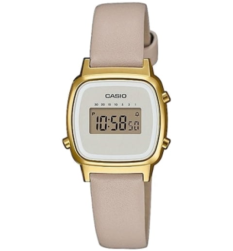 Casio Collection LA-670WEFL-9E с секундомером