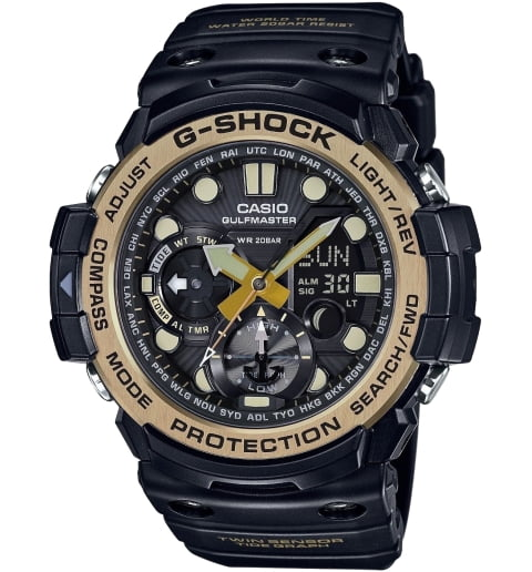 Casio G-Shock GN-1000GB-1A с термометром