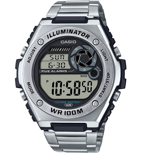 Casio Collection MWD-100HD-1A с секундомером