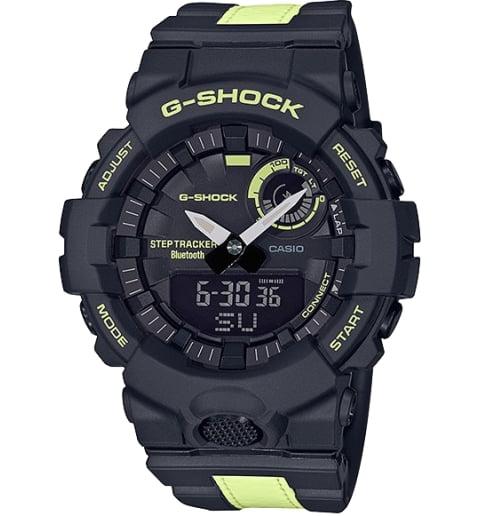 Часы Casio G-Shock GBA-800LU-1A1 с шагомером