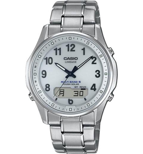 Часы Casio Lineage LCW-M100TSE-7A в титановом корпусе