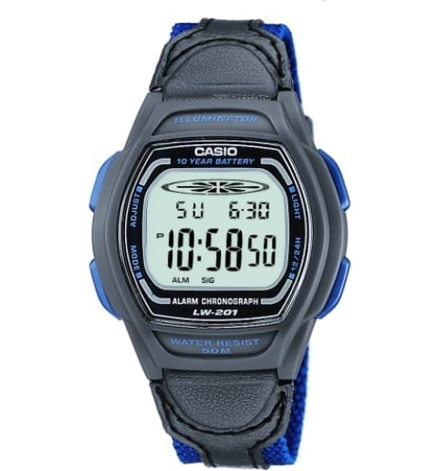 Часы Casio Collection LW-201B-2A Digital