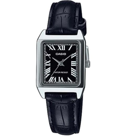 Прямоугольные часы Casio Collection  LTP-V007L-1B