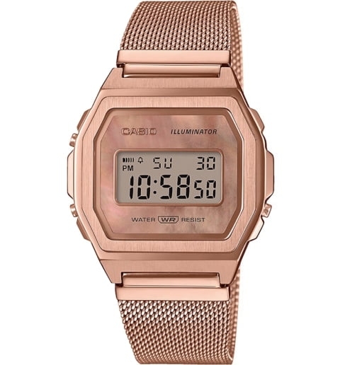 Casio Collection A1000MPG-9E с секундомером