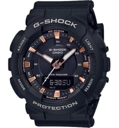 Casio G-Shock GMA-S130PA-1A с шагомером