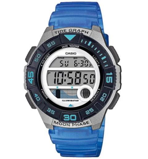 Дешевые часы Casio Collection LWS-1100H-2A