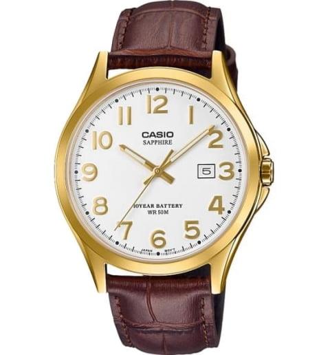 Часы Casio Collection MTS-100GL-7A с сапфировым стеклом