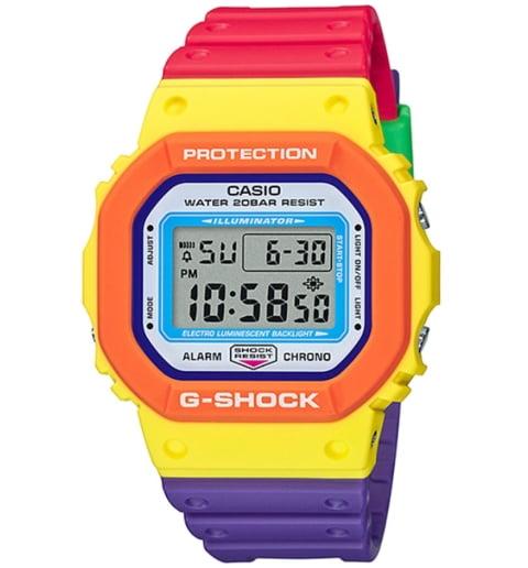 Часы Casio G-Shock DW-5610DN-9E с водонепроницаемостью 20 бар