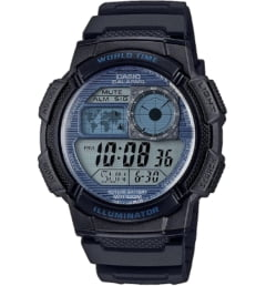 Casio Collection AE-1000W-2A2 с секундомером