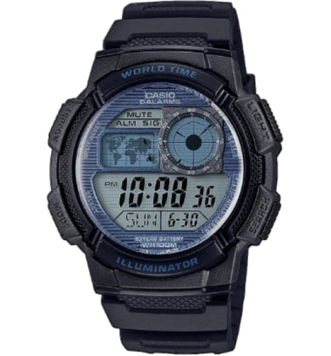 Часы Casio Collection AE-1000W-2A2 Digital