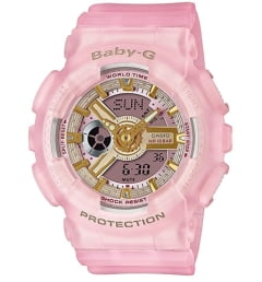 Casio Baby-G BA-110SC-4A с водонепроницаемостью 10 бар