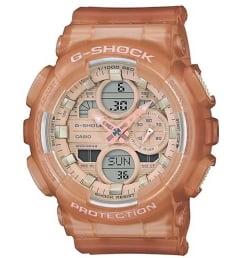 Часы Casio G-Shock  GMA-S140NC-5A1 с каучуковым браслетом