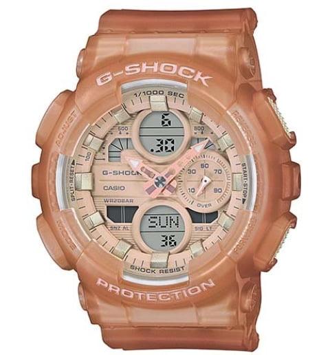 Часы Casio G-Shock  GMA-S140NC-5A1 с водонепроницаемостью 20 бар