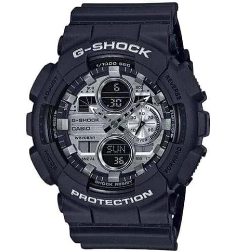 Часы Casio G-Shock  GA-140GM-1A1 с водонепроницаемостью 20 бар