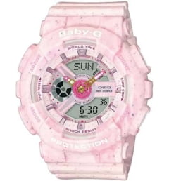Casio Baby-G  BA-110PI-4A с водонепроницаемостью 10 бар