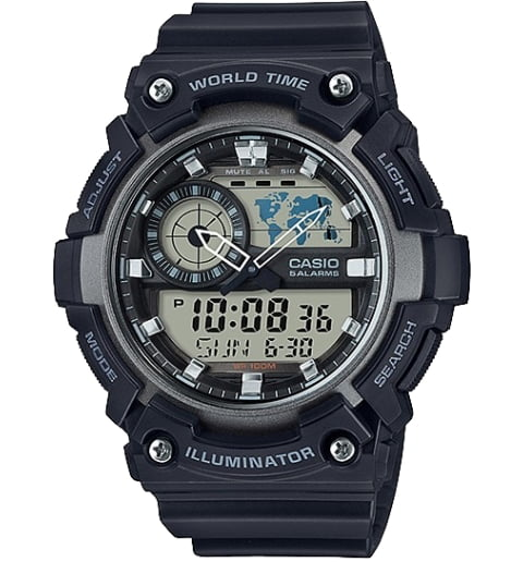 Дешевые часы Casio Collection AEQ-200W-1A