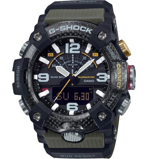 Часы Casio G-Shock GG-B100-1A3 с шагомером