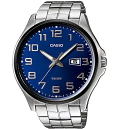 Casio Collection MTP-1319BD-2A с синим циферблатом
