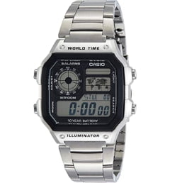 Casio Collection AE-1200WHD-7A с секундомером