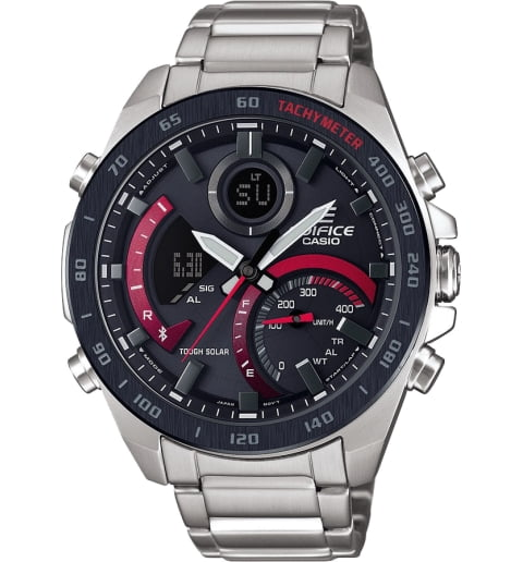 Часы Casio EDIFICE ECB-900DB-1A на солнечной атарее
