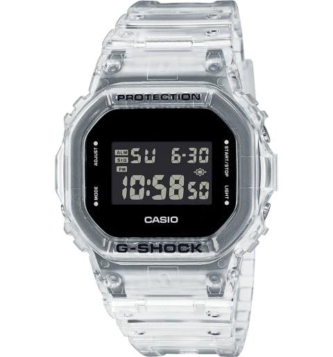 Часы Casio G-Shock DW-5600SKE-7E с водонепроницаемостью WR20Bar