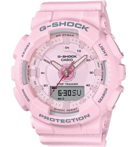 Часы Casio G-Shock GMA-S130-4A с шагомером