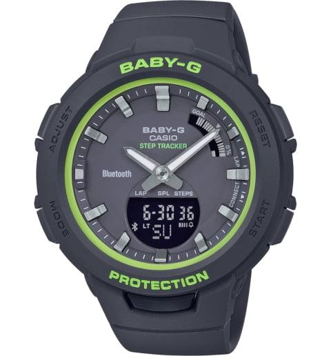 Часы Casio Baby-G BSA-B100SC-1A с Bluetooth