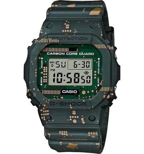 Часы Casio G-Shock DWE-5600CC-3E с водонепроницаемостью 20 бар