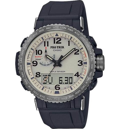 Часы Casio PRO TREK PRW-50Y-1B с термометром