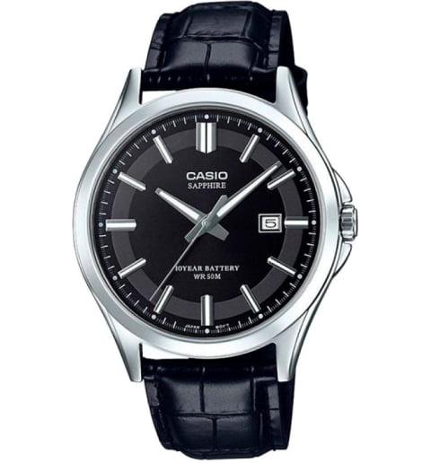 Часы Casio Collection MTS-100L-1A с сапфировым стеклом