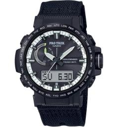 Часы Casio PRO TREK PRW-60YBM-1A с текстильным браслетом