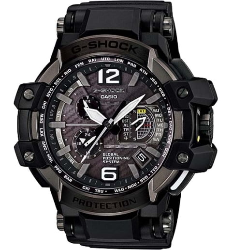 Часы Casio G-Shock  GPW-1000-1B с GPS