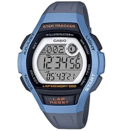 Женские Casio Collection LWS-2000H-2A с шагомером