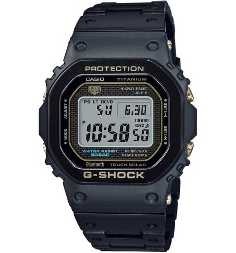 Часы Casio G-Shock GMW-B5000TB-1E в титановом корпусе