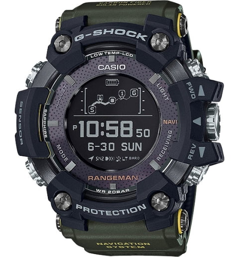 Часы Casio G-Shock GPR-B1000-1B с GPS