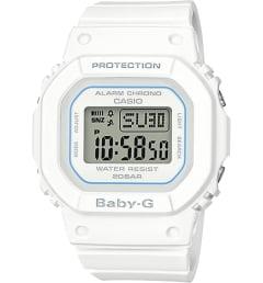 Белые Casio Baby-G BGD-560-7E с белым браслетом