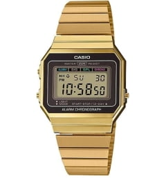 Бочкообразные Casio Collection A-700WEG-9A